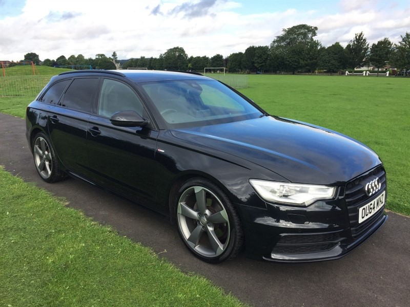 used Audi A6 Avant TDI ULTRA S LINE BLACK EDITION in dundee-scotland