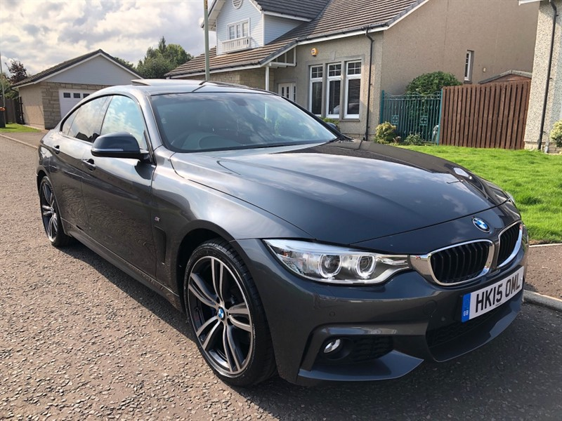 used BMW 420d XDRIVE M SPORT GRAN COUPE in dundee-scotland