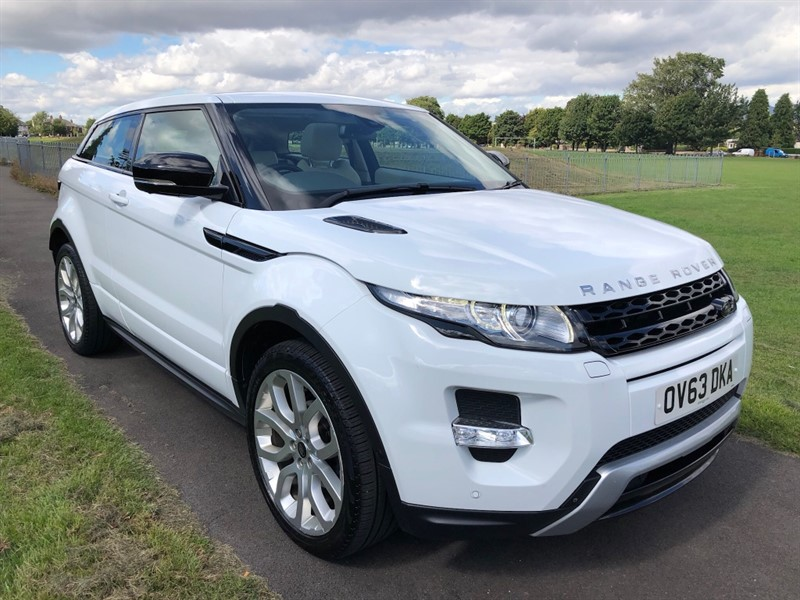 used Land Rover Range Rover Evoque SD4 DYNAMIC LUX in dundee-scotland