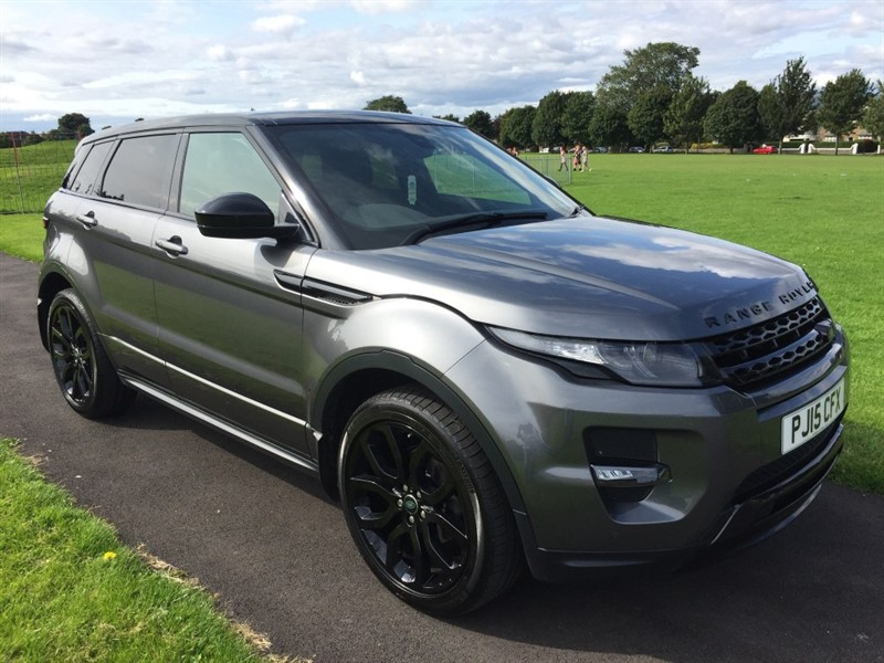 used Land Rover Range Rover Evoque SD4 DYNAMIC in dundee-scotland