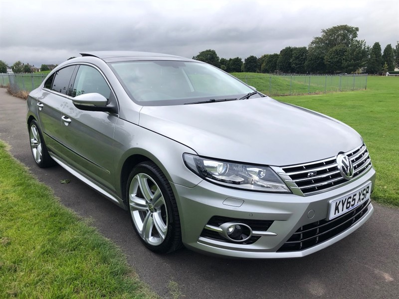 used VW CC R LINE TDI BLUEMOTION TECHNOLOGY DSG in dundee-scotland
