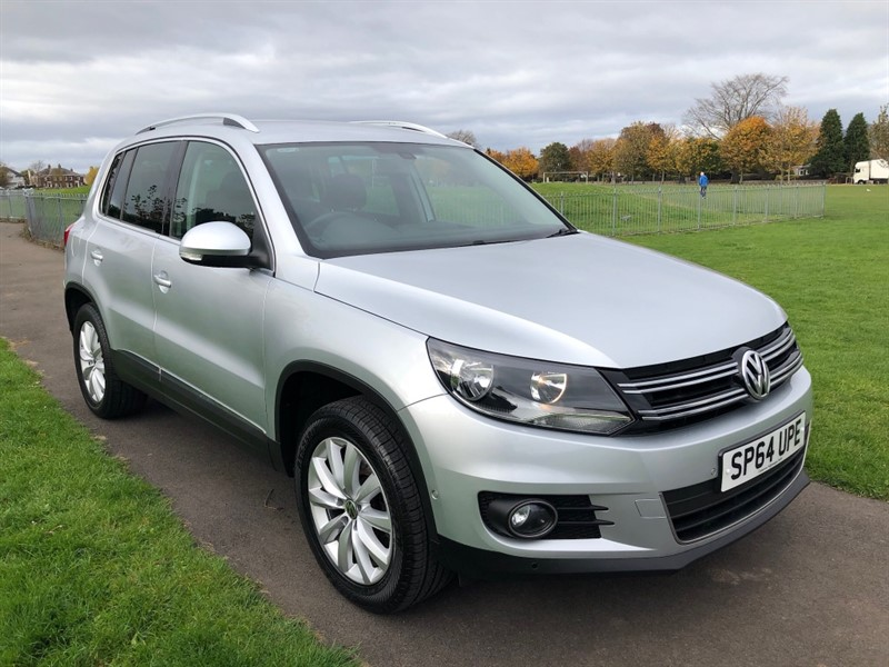 used VW Tiguan MATCH TDI BLUEMOTION TECH 4MOTION DSG in dundee-scotland