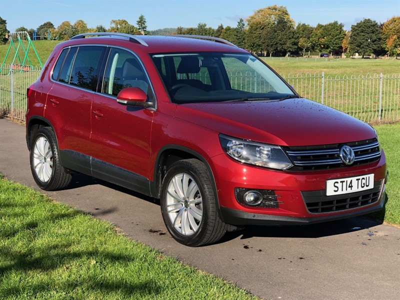 used VW Tiguan MATCH TDI BLUEMOTION TECHNOLOGY 4MOTION in dundee-scotland