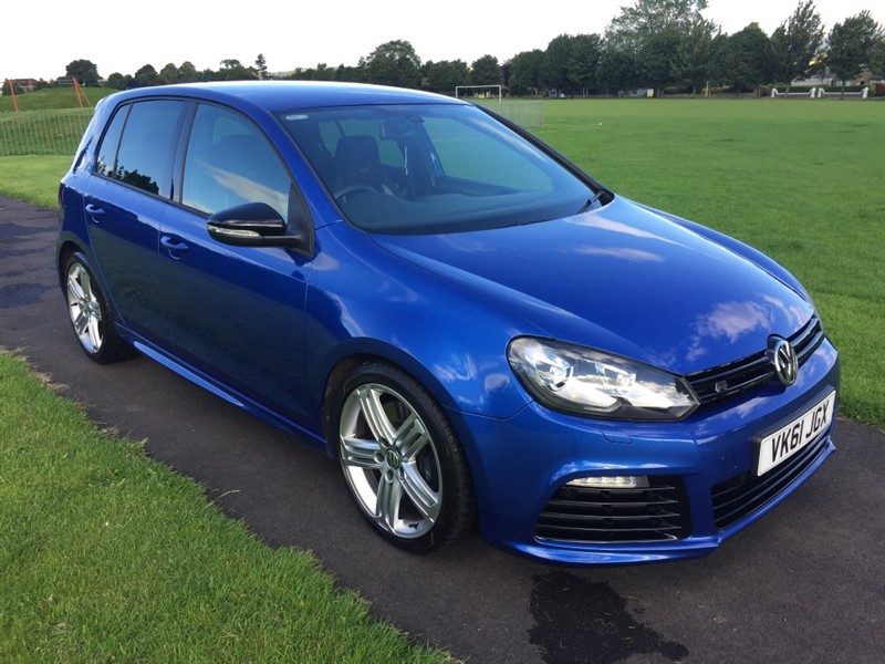 used VW Golf R DSG in dundee-scotland