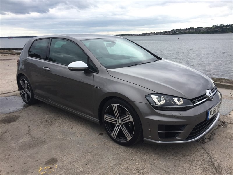 used VW Golf R in dundee-scotland