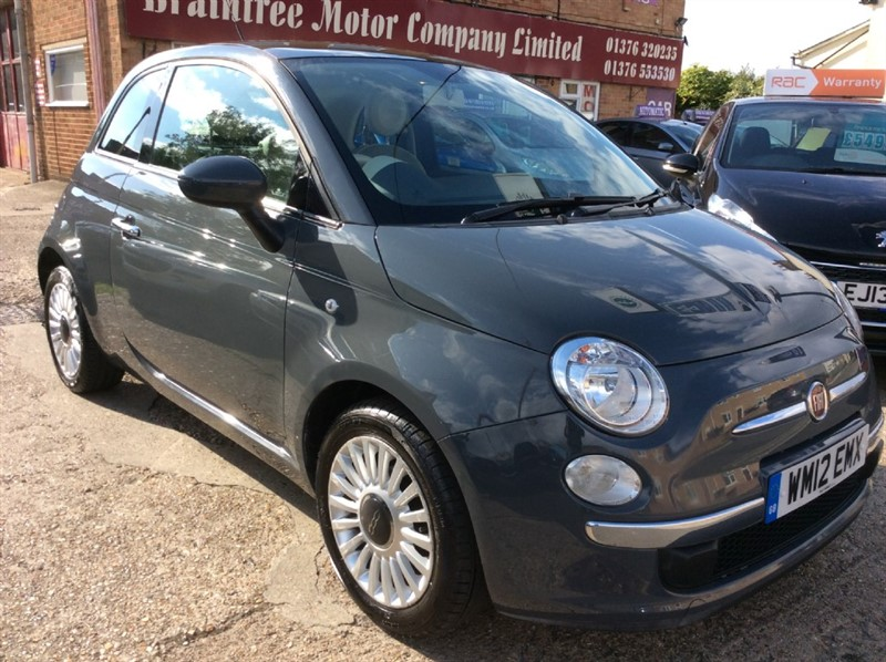 used Fiat 500 LOUNGE in braintree