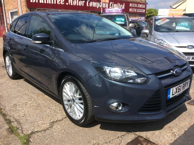 used Ford Focus ZETEC in braintree