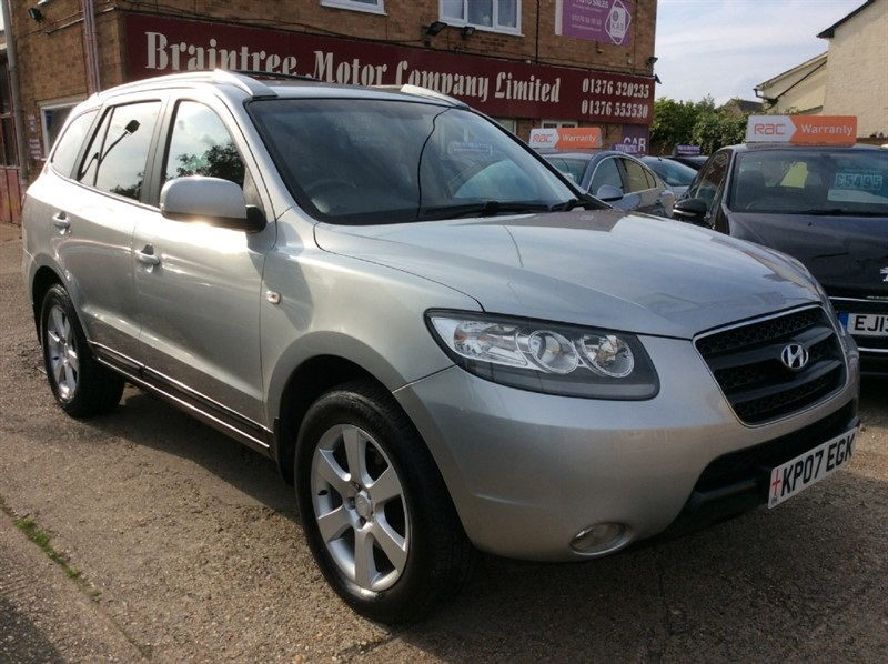 used Hyundai Santa Fe CDX PLUS CRTD in braintree