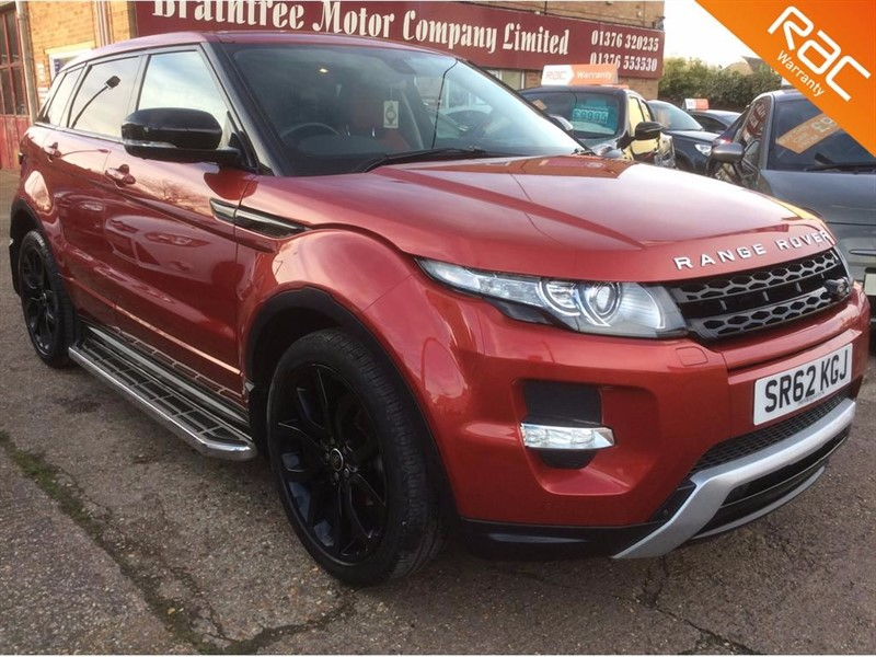 used Land Rover Range Rover Evoque SD4 DYNAMIC LUX PACK in braintree