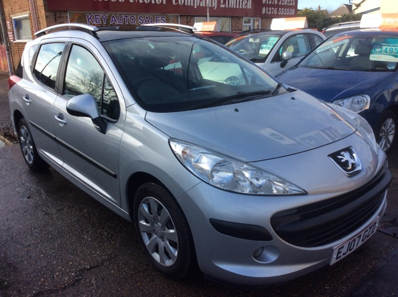 used Peugeot 207 207 SW S £115 Road TAX in braintree
