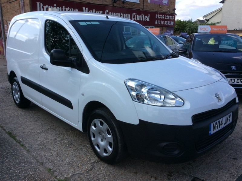 used Peugeot Partner HDI S L1 850 in braintree