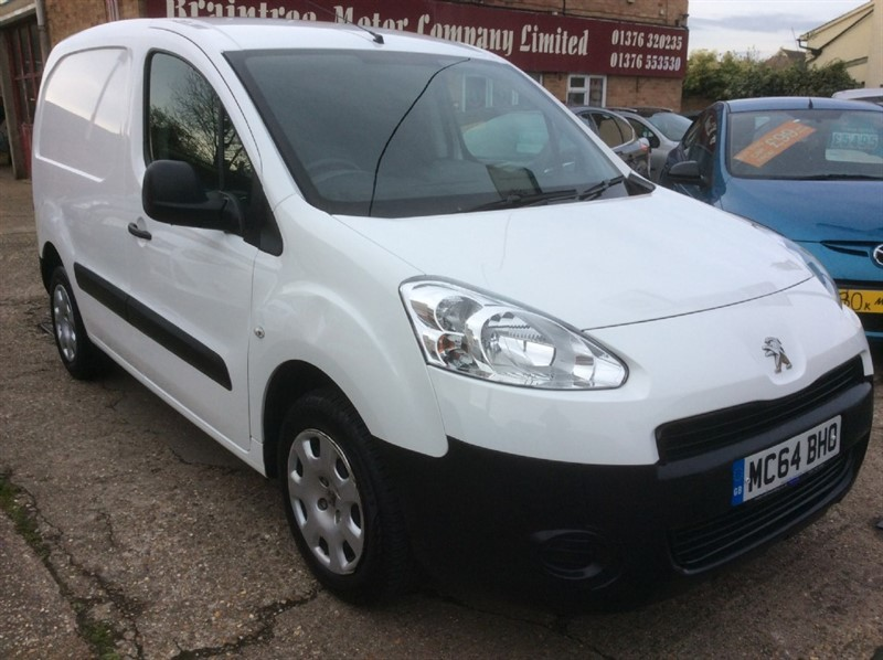 used Peugeot Partner HDI PROFESSIONAL L1 850 in braintree