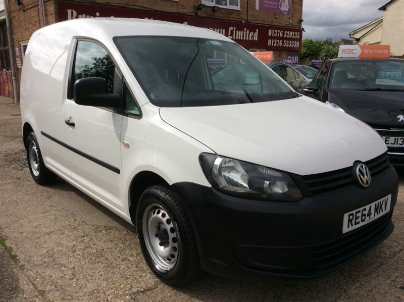 used VW Caddy C20 TDI STARTLINE in braintree
