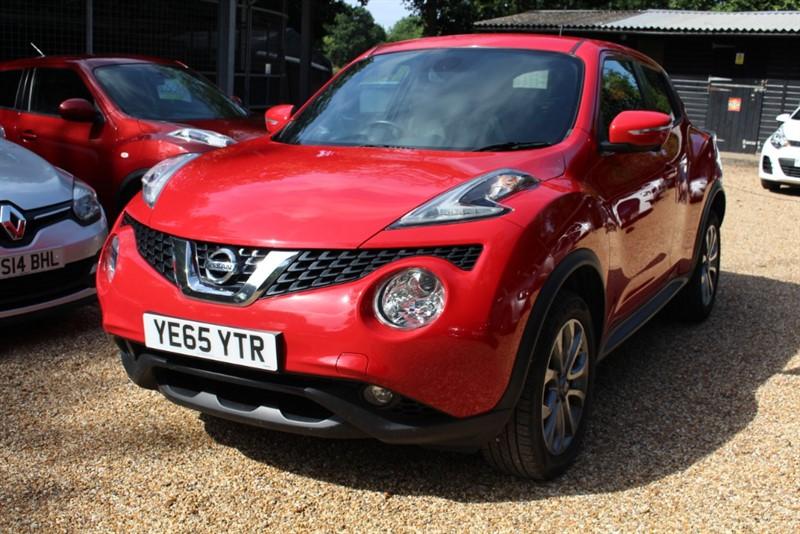 used Nissan Juke TEKNA DCI