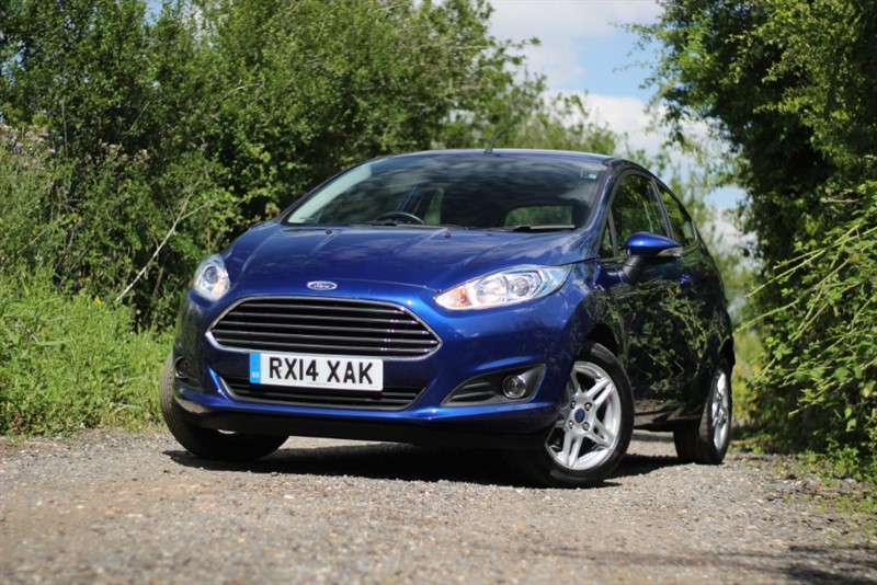 used Ford Fiesta ZETEC in brentwood-essex