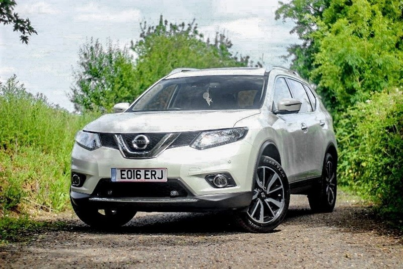 used Nissan X-Trail DCI N-TEC XTRONIC in chelmsford-essex