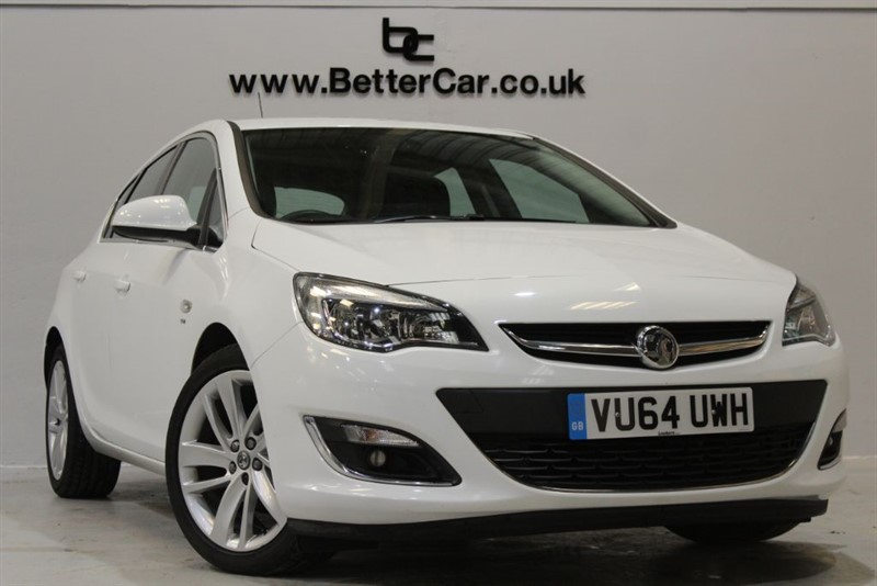 used Vauxhall Astra SRI in chelmsford-essex