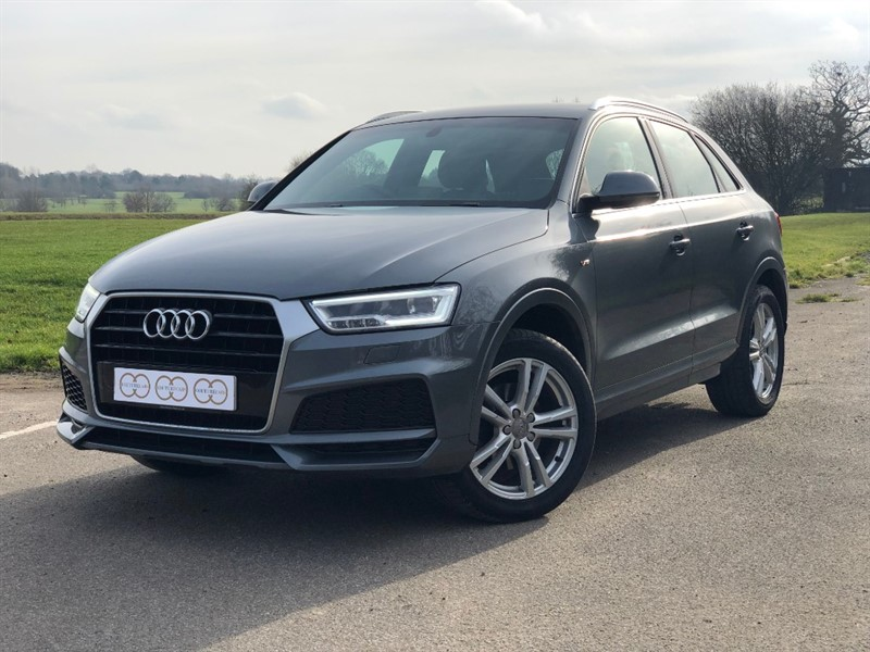 used Audi Q3 TFSI S LINE EDITION in stapleford-tawney-essex