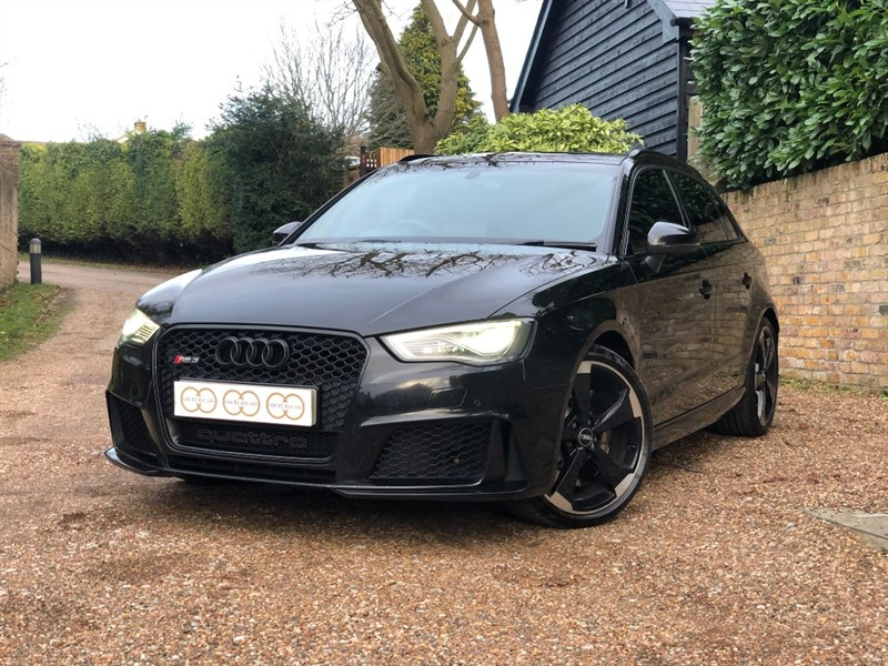 used Audi RS3 SPORTBACK QUATTRO NAV in stapleford-tawney-essex