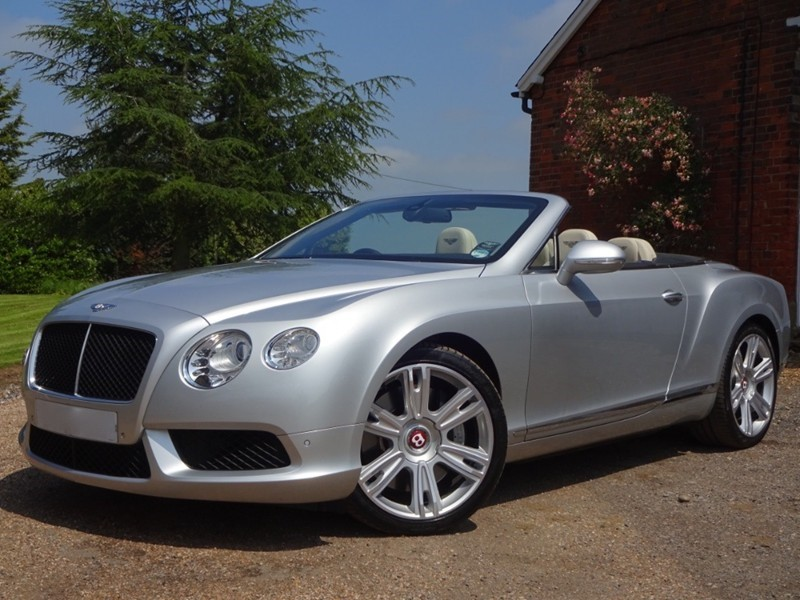 used Bentley Continental GTC V8 in stapleford-tawney-essex