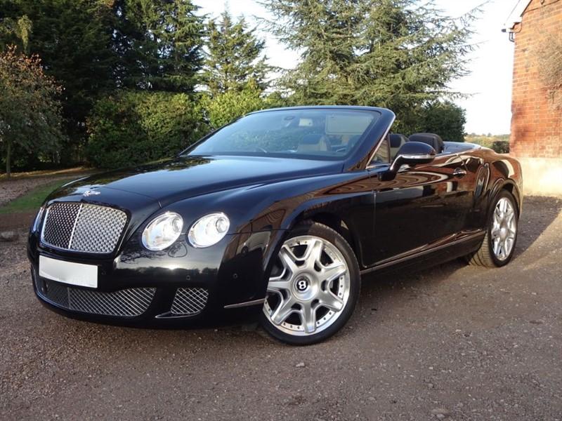 used Bentley Continental GTC Mulliner in stapleford-tawney-essex