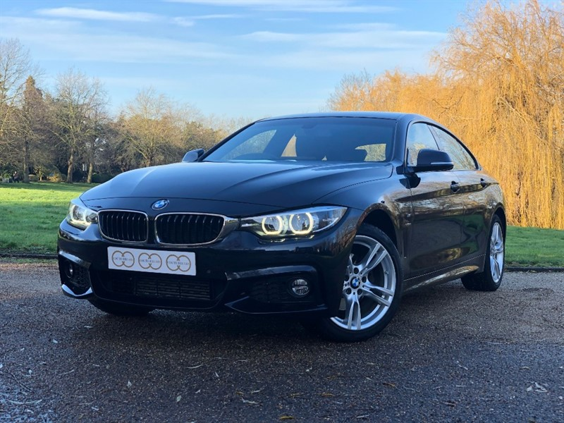 used BMW 420d M SPORT GRAN COUPE in stapleford-tawney-essex