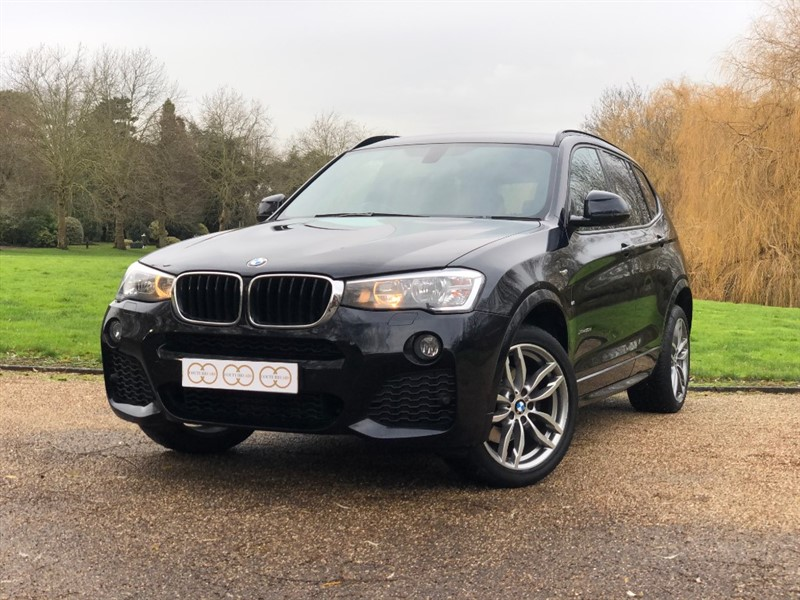 used BMW X3 XDRIVE20D M SPORT in stapleford-tawney-essex