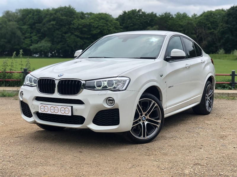 used BMW X4  XDRIVE20D M SPORT in stapleford-tawney-essex