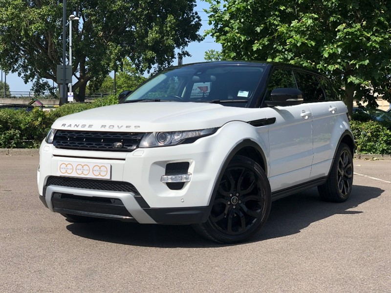 used Land Rover Range Rover Evoque SD4 DYNAMIC in stapleford-tawney-essex