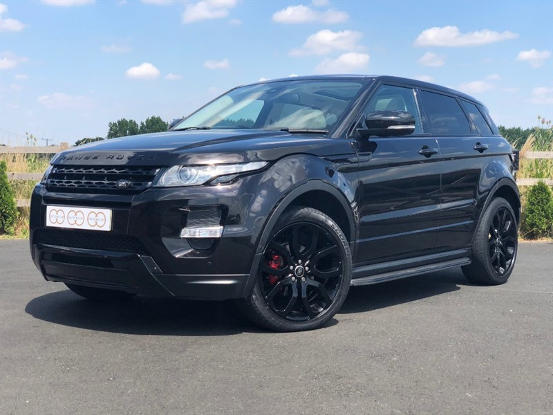 used Land Rover Range Rover Evoque SD4 DYNAMIC LUX in stapleford-tawney-essex