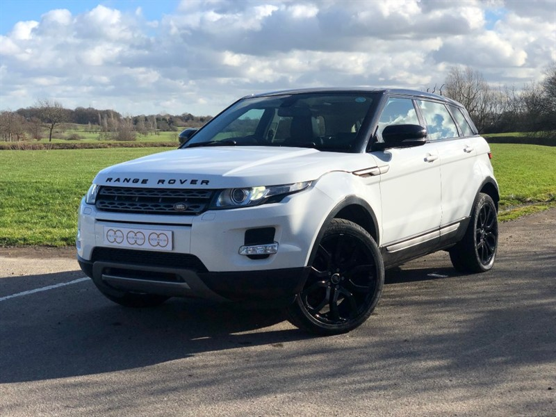 used Land Rover Range Rover Evoque SD4 PURE TECH in stapleford-tawney-essex
