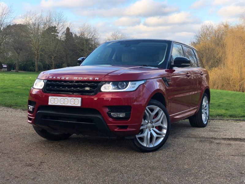used Land Rover Range Rover Sport V8 AUTOBIOGRAPHY DYNAMIC in stapleford-tawney-essex