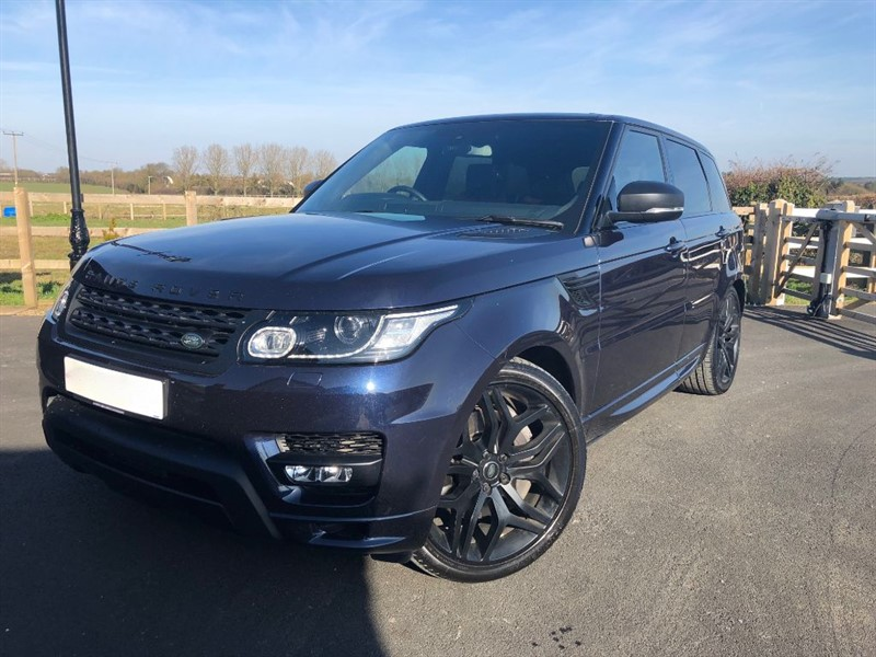 used Land Rover Range Rover Sport SDV6 AUTOBIOGRAPHY DYNAMIC in stapleford-tawney-essex