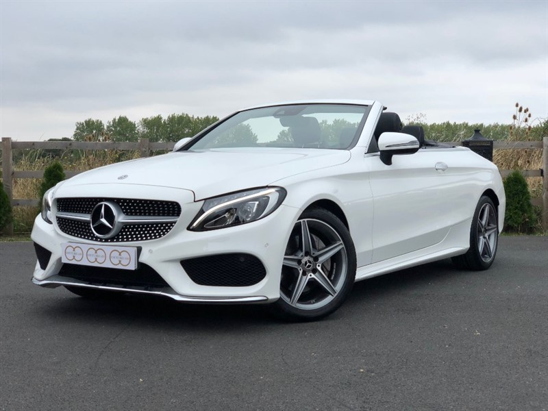 used Mercedes C200 AMG LINE in stapleford-tawney-essex