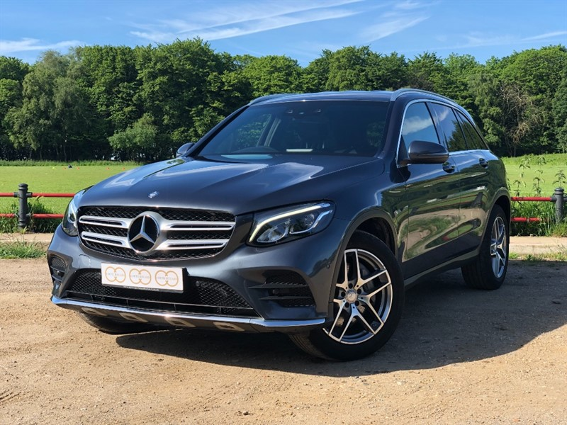 used Mercedes 250 GLC  D 4MATIC AMG LINE in stapleford-tawney-essex