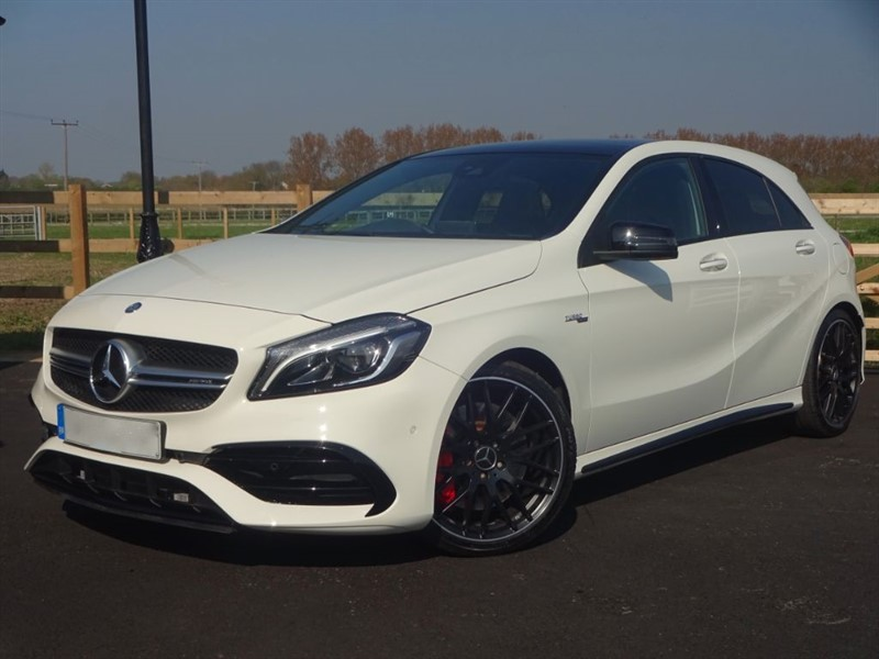 used Mercedes A45 A-CLASS A45 4MATIC PREMIUM in stapleford-tawney-essex