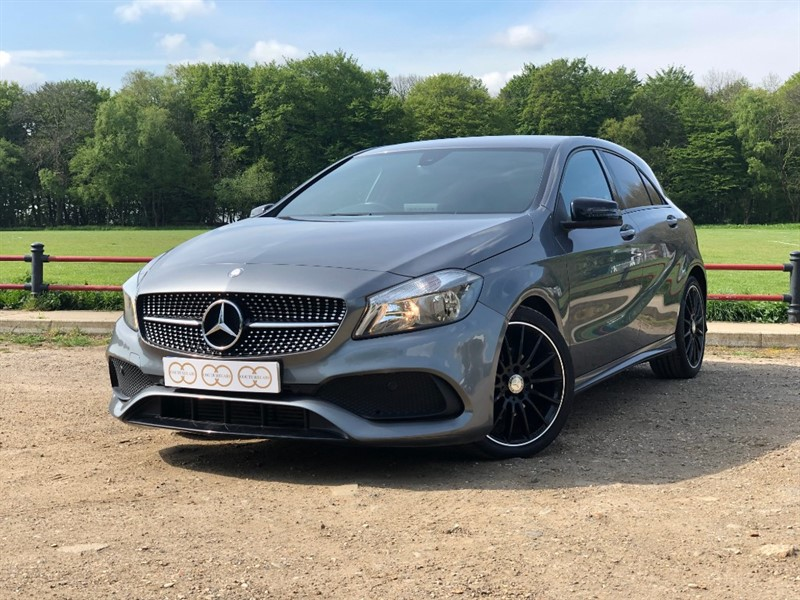 used Mercedes A180d AMG LINE in stapleford-tawney-essex