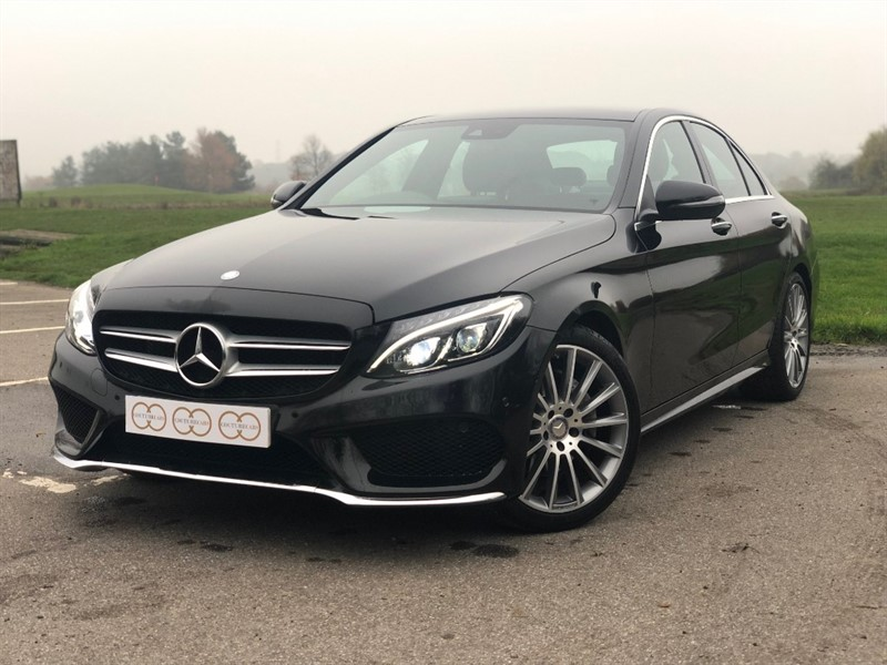 used Mercedes C220 D AMG LINE PREMIUM in stapleford-tawney-essex