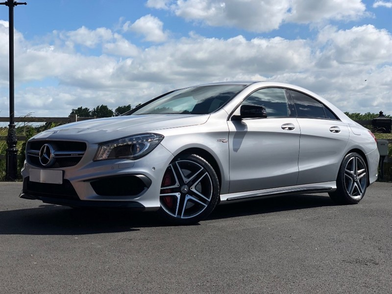 used Mercedes CLA45 AMG CLA45 AMG 4MATIC in stapleford-tawney-essex