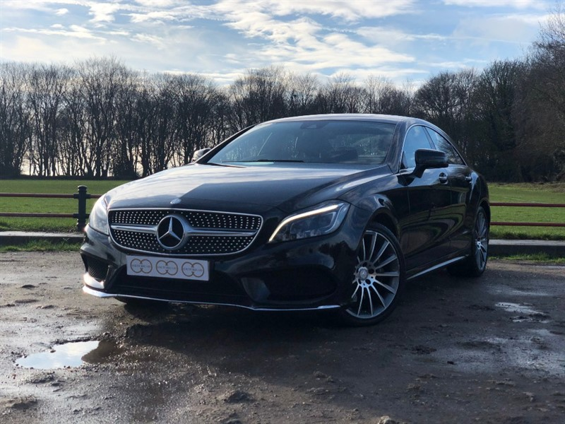 used Mercedes CLS350 CDI AMG LINE PREMIUM in stapleford-tawney-essex