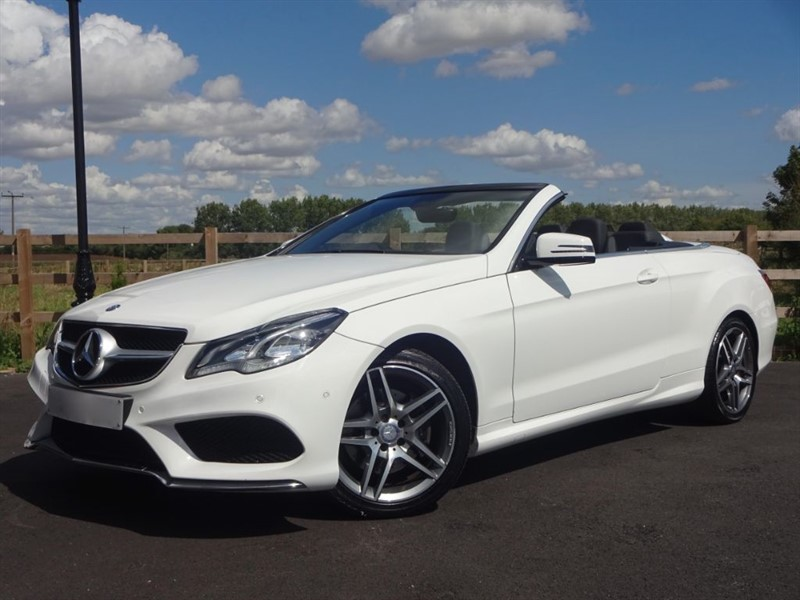 used Mercedes E220 CDI AMG SPORT in stapleford-tawney-essex