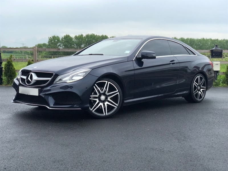used Mercedes E220 BLUETEC AMG LINE in stapleford-tawney-essex