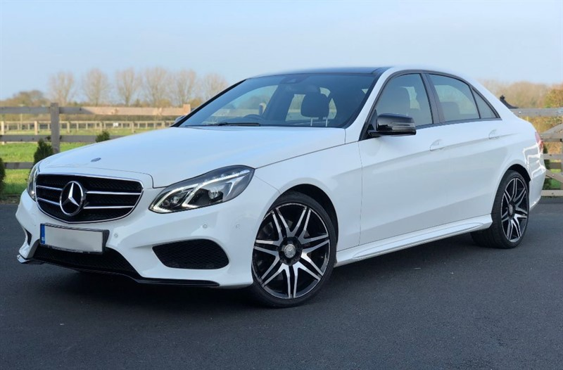 used Mercedes E350 BLUETEC AMG NIGHT EDITION PREMIUM in stapleford-tawney-essex