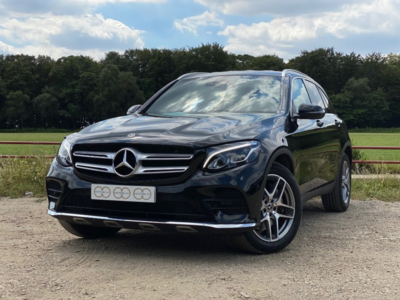 used Mercedes GLC220 D 4MATIC AMG LINE in stapleford-tawney-essex