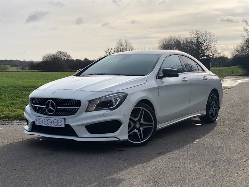 used Mercedes CLA180 CLA 180 AMG SPORT in stapleford-tawney-essex