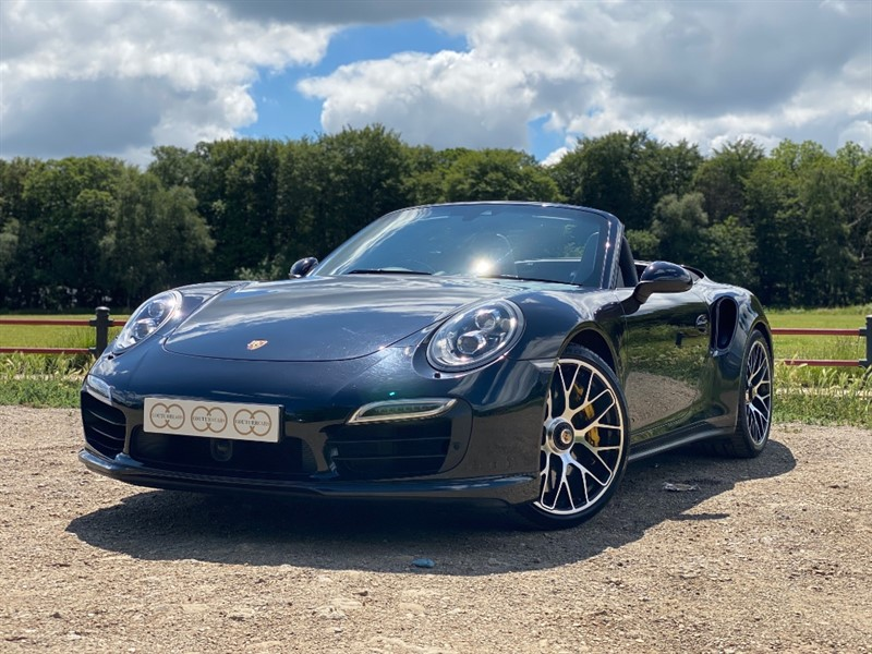 used Porsche 911 991 TURBO S PDK in stapleford-tawney-essex