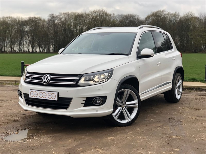 used VW Tiguan R LINE TDI BLUEMOTION TECH 4MOTION DSG in stapleford-tawney-essex