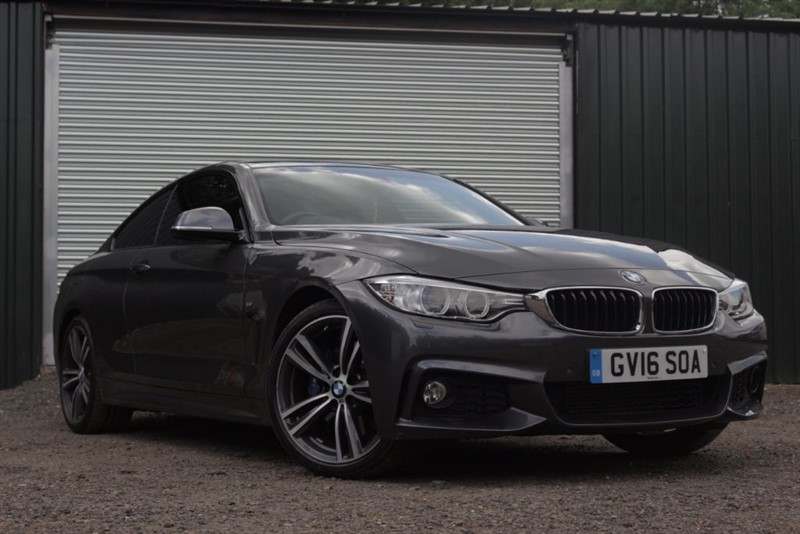 used BMW 420d M SPORT in essex