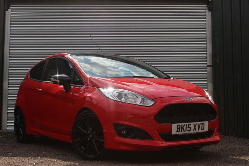 used Ford Fiesta ZETEC S RED EDITION in essex