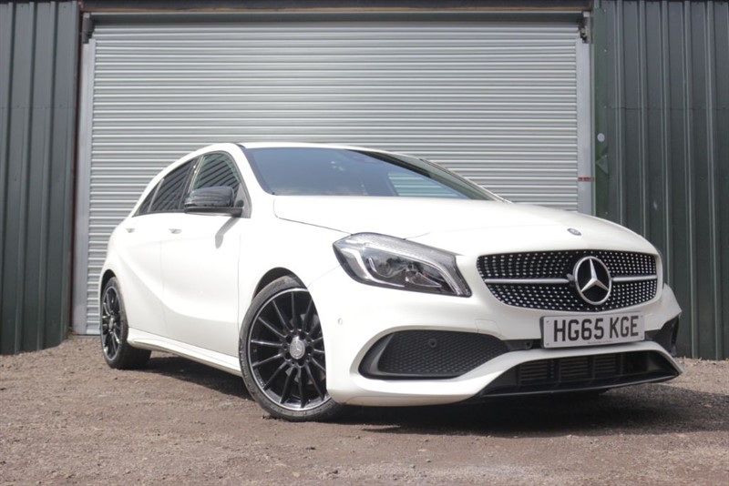used Mercedes  A-CLASS A 200 D AMG LINE PREMIUM in essex